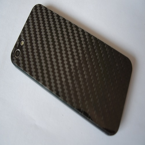 Imagen de Sticker iPhone 5 pure carbon twill